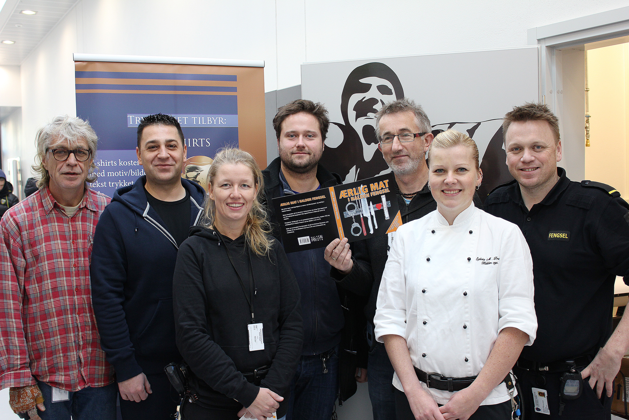 Bokutgivelse i Østfold: «Ærlig mat i Halden fengsel»