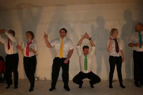 Teaterforestilling av innsatte i Bjørgvin fengsel