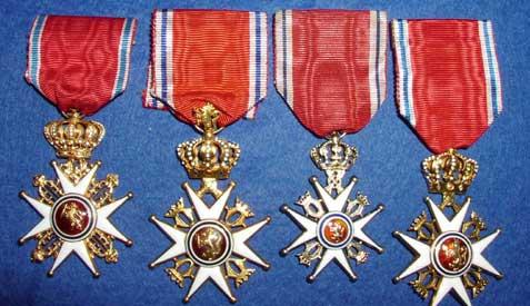 Torfinn utnevnt til Ridder av 1. klasse og tildelt St. Olavs Orden !
