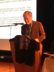 Kevin Warner, pensjonert koordinator for fengselsundervisning i Irland