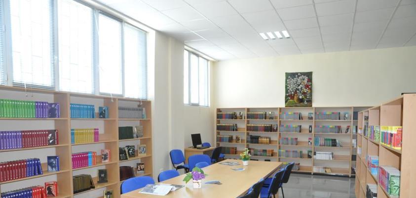 Georgia – bibliotek og skole i fengsel