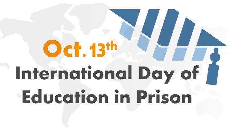 Internasjonal dag for opplæring innenfor kriminalomsorgen 13.oktober